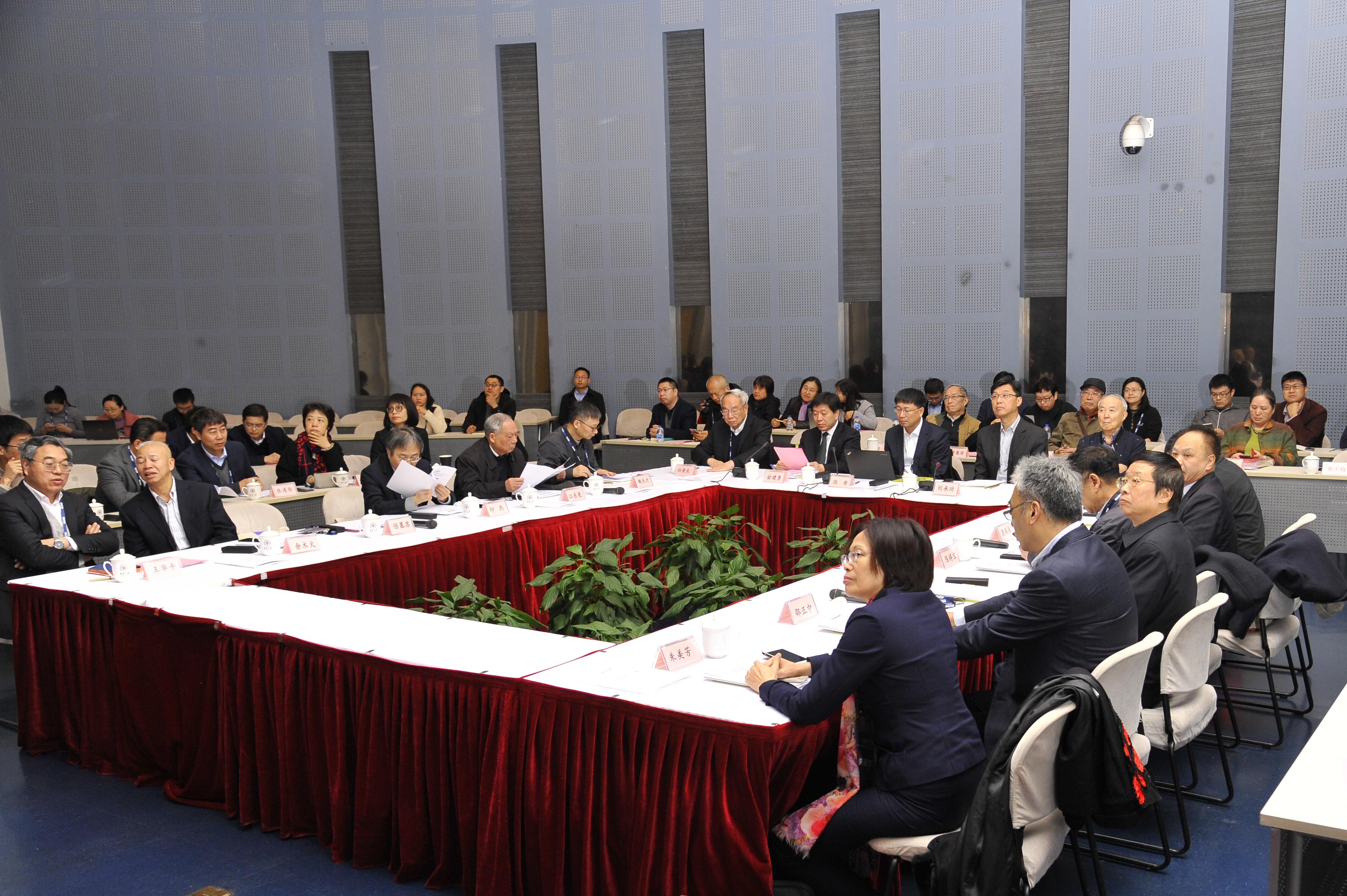 纤维材料改性国家重点实验室召开第六届学术委员会第一次会议暨SKLFPM2019年学术年会